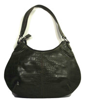 Purse Tommy Hilfiger Tassel Zipper Unique Studded Green Hobo (*L3B19) - $49.99