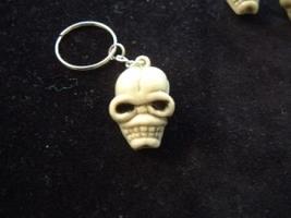 ZOMBIE SKULL KEYCHAIN-Gothic Punk Voodoo Cosplay Costume Jewelry - $3.97