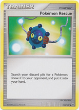 Pokemon Rescue 115/127 Uncommon Trainer Platinum Pokemon Cards - $1.09
