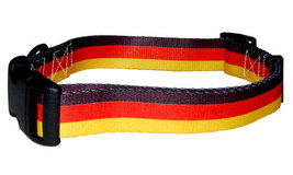 Large German Flag Dog Collar by PatriaPet - $15.00