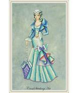 Scarlett Gone But Not Forgotten cross stitch chart Cross Stitching Art - $13.50