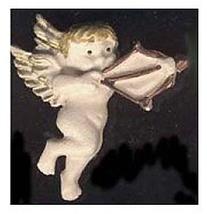 CUPID CHERUB ANGEL BUTTON PIN BROOCH-Bow Arrow ... - $4.97