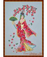 Sakura Blossom cross stitch chart Cross Stitching Art - $13.50