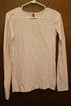 American Eagle Outfitters Pink Long Sleeve Top - Size Juniors Small - $6.99