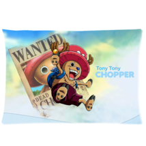One Piece Chopper Pillow Cases 20x30 (Twin sides) - $18.99
