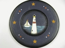 RPM-6 Lighthouse Plate Wood Plate  - $6.95