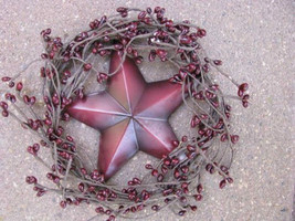 Patrioitic Wreath STW-3 Red Star in Wreath - $5.95