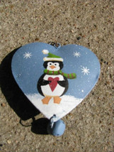 Christmas Ornament OR-510 Metal Penguin Ornament - $2.25