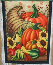 Fall garden flags 2406CGF CORNUCOPIA GARDEN FLAG - $8.95