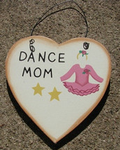 Wooden Sports Sign WD1900H- Dance Mom - $1.75