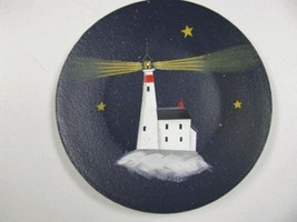 NEW-10 Lighthouse Wood Plate  - $3.95