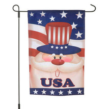 garden flags Uncle Sam #131 July 4th - $8.95