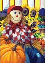 garden flags 110551 - Fall Farm Scarecrow - $8.95