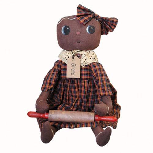 Primitive Doll 2479GB- Gingerbread Doll - $25.95