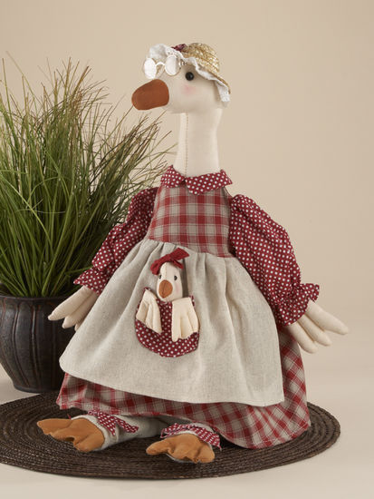 Primary image for 41151 Cloth Sitting Red Mother Goose