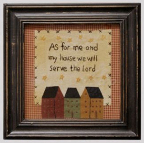 Primary image for Wood Stitchery Sign  AFM1960-Me & My House Sampler