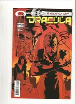 Autographed Cover - Sword of Dracula # 1 (2003) - $2.00