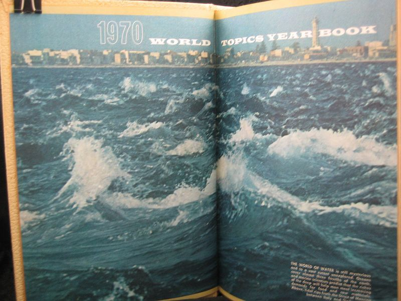 World Topics Year Book 1970 News Highlights of 1969