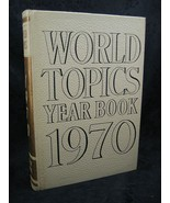 World Topics Year Book 1970 News Highlights of 1969 - $6.99