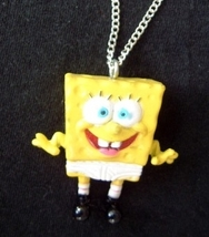 SPONGEBOB UNDERPANTS PENDANT NECKLACE-Big Cartoon Funky Jewelry - $6.97