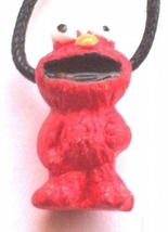 ELMO PENDANT NECKLACE-Character Charm Sesame Street Fun Jewelry - $6.97