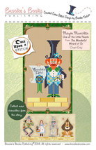 Once Upon A Stitch: Mayor Munchkin Wizard of Oz Chart Brooke's Books - $5.40