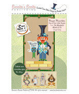 Once Upon A Stitch: Mayor Munchkin Wizard of Oz Chart Brooke's Books - $5.40