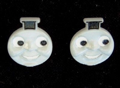 Thomas 20the 20tank 20engine 20button 20earrings