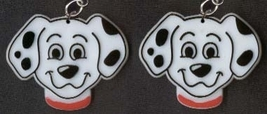 101 DALMATIONS EARRINGS - Disney Puppy Dog Fire Fighter Jewelry - $6.97