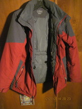 L.L. BEAN Boys Thinsulate Winter Hooded  Coat Jacket 10-12 M - $21.00