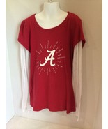 Alabama Crimson Tide Girls Long Sleeve Tee Size... - $12.86