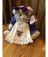 Vintage Plush Teddy Bear Lady Welch's Advertisi... - $15.28
