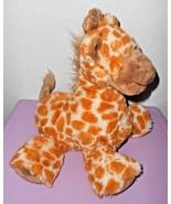 Macy's First Impressions Giraffe Plush Stuffed Animal Brown Orange Yello... - $29.58