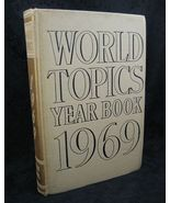 World Topics Year Book 1969 News Highlights of 1968 - $6.99