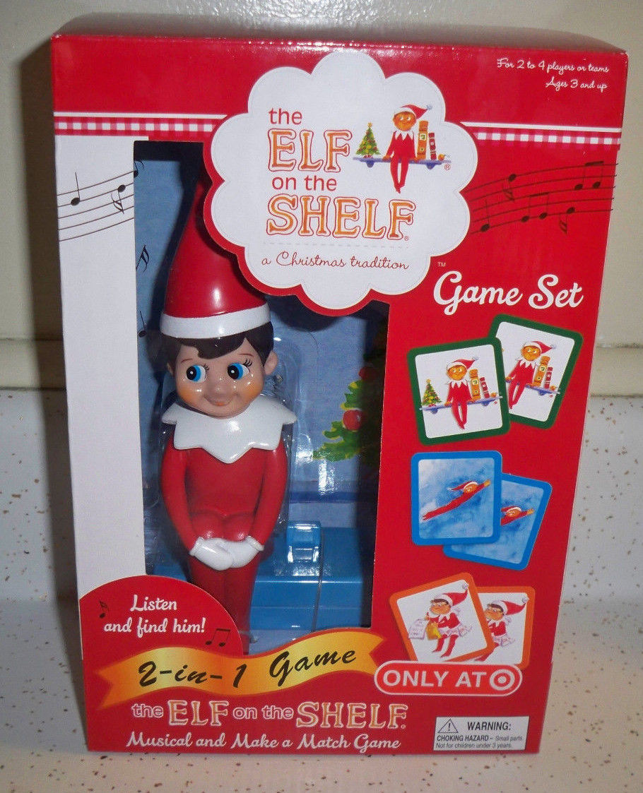 Primary image for The Elf on the Shelf Musical and Make a Match Deluxe 2-in-1 Family Game Set New