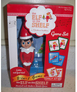The Elf on the Shelf Musical and Make a Match Deluxe 2-in-1 Family Game ... - $14.68