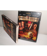 PIRATES OF THE CARIBBEAN 2-DISC COLLECTOR'S EDITION DVD WITH JOHHNY DEPP... - $7.70