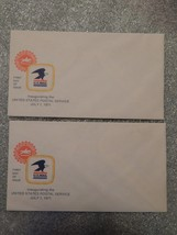 2 UNUSED - July 1 1971 First day of Issue - Inaugurating US Postal - $9.99