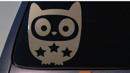 owl sticker decal car window vinyl *C504* - $2.99