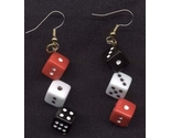 Dice 20earrings red 20black 20white large thumb155 crop