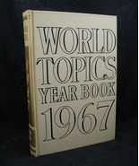 World Topics Year Book 1967 News Highlights of 1966 - $6.99