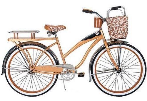 Women Bike Cruiser Beach Women39s Bicycle Huffy 26quot Deluxe WFront Ba