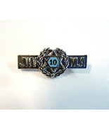 Vintage Jewish War Veterans National Ladies Auxilary 10 Year  Recognitio... - $8.99