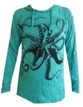 cz Yoga Hoodie Octopus Ocean Sea nature Peace Zen Hobo Boho Sure Hippie ... - $21.77