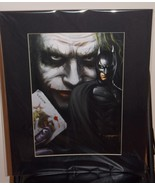 Batman With Joker Matted Print 16 X 20 New - $24.99