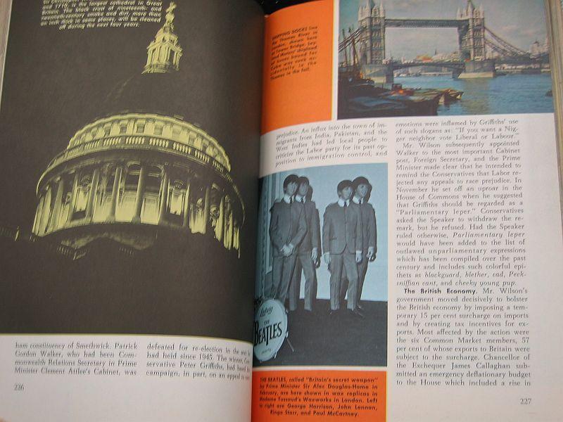 World Topics Year Book 1965 News Highlights of 1964