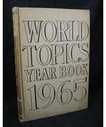 World Topics Year Book 1965 News Highlights of 1964 - $6.99