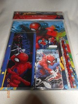 New Marvel Spiderman 10-piece school home stationery set school supplies... - $8.90