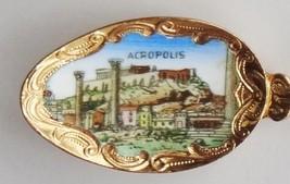 Collector Souvenir Spoon Greece Athens Acropolis Wingless Victory Athena... - $16.99