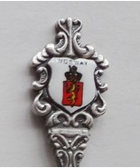 Collector Souvenir Spoon Norway Coat of Arms Porcelain Enamel Emblem - $12.99